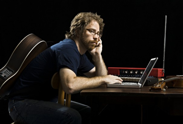 Jonathan Coulton, photo by Dale May